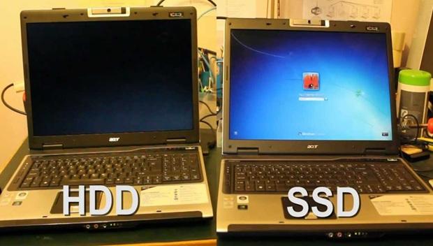 Lý do chọn ổ cứng SDD khi mua laptop cũ