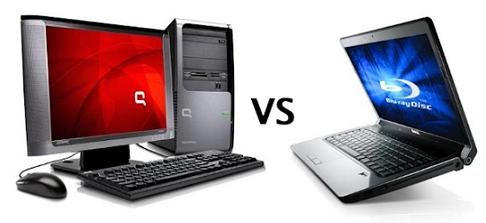 Máy tính để bàn hay Laptop? (Nguồn: fptshop.com.vn)